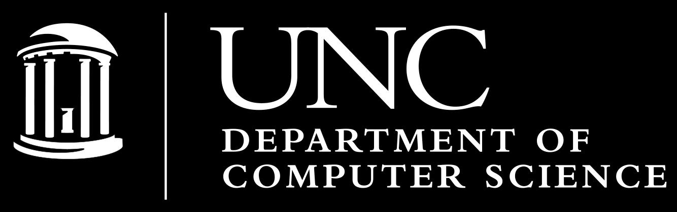 UNC Department of Computer Science